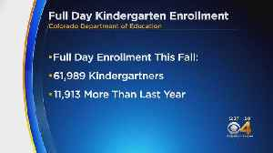 Kindergarten Enrollment Jumps Nearly 12,000 Students In First Year Of New Law [Video]