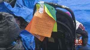 Time Running Out For Homeless Encampment On Joe Rodota Trail In Santa Rosa [Video]