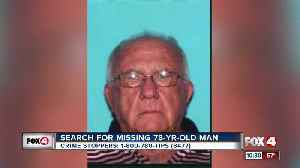Search for missing 78-year-old man continues [Video]