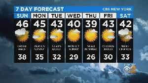 New York Weather: CBS2 1/25 Nightly Forecast at 11PM [Video]