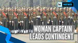 Watch: Captain Tanya Shergill leads all-men marching contingent at Republic Day parade [Video]