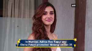 Learning water sports for Malang was risky Disha Patani [Video]