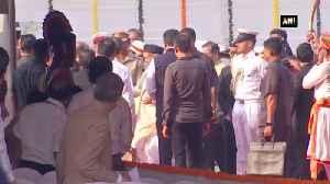 Republic Day 2020 Maharashtra Governor Bhagat Singh unfurls tricolor in Mumbai [Video]