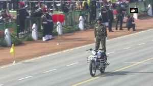 CRPF woman bikes showcases daredevilry at Republic Day parade [Video]