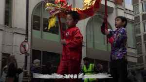 London celebrates Chinese New Year in spite of coronavirus fears