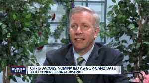 New York State Senator Chris Jacobs receives Republican nomination for vacant NY-27 seat [Video]