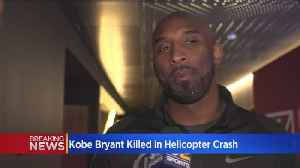 Kobe Bryant Dies At Age 41 In Helicopter Crash In Calabasas [Video]