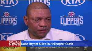 Doc Rivers On Kobe: 'Just So Many People He Touched...' [Video]