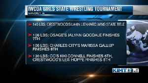 Iowa State girl's wrestling tournament results [Video]