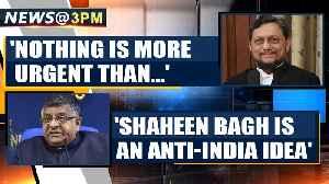 Union Minister Ravi Shankar Prasad says Shaheen Bagh is an anti-India idea | Oneindia News [Video]