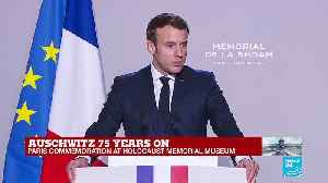 """""""Those who were deprived of a name in exchange for a number retrieve here their identities,"""" Macron says [Video]"""