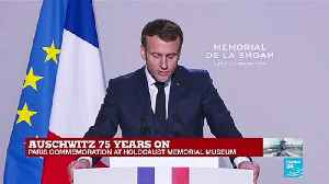 """""""Education is an antidote for intolerance,"""" says Macron [Video]"""