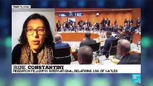 """Irene Costantini on France 24: """"The conference in Berlin cannot be understood as the end of the Libyan conflict"""" [Video]"""