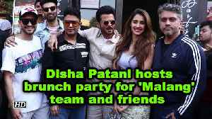 Disha Patani host brunch party for 'Malang' team and friends [Video]