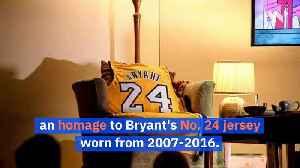 NBA Teams Honor Kobe Bryant to Start Their Games [Video]