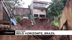 Death toll from intense storms and flooding in Brazil rises to 44 [Video]
