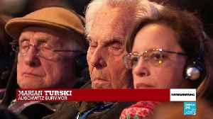 "Auschwitz, 75 years on: ""Do not be indifferent"", says death camp survivor Marian Turski [Video]"