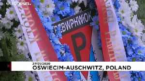 Former Auschwitz prisoners gathered to commemorate the Holocaust, 75 years after liberation [Video]