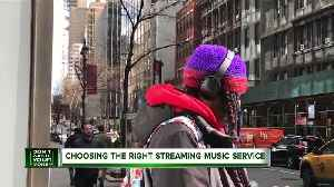 How to choose the right music streaming service [Video]