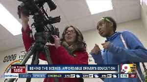 Behind the scenes of WCPO's reporting partnership with Hughes STEM High School [Video]