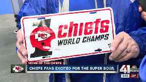 Chiefs fans excited for the Super Bowl [Video]