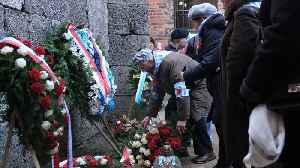 Holocaust Survivors Remember Liberation Of Auschwitz-Birkenau [Video]