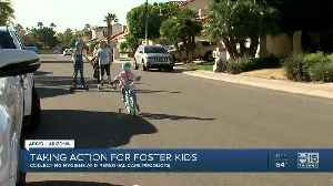 Taking Action for Foster Kids: Collecting personal care products [Video]