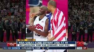 NBA great Kobe Bryant dies at 41 [Video]