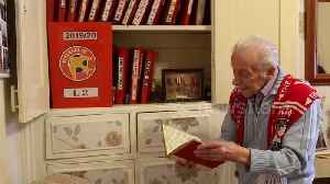 95-year-old football fanatic has been supporting his beloved Walsall FC for over 85 years [Video]