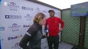 Tiger shocked by Bryant news [Video]
