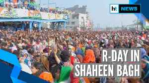 Watch how Delhi's Shaheen Bagh observed Republic Day amid anti-CAA protests [Video]