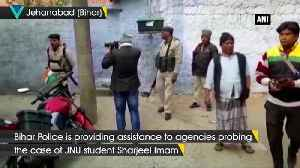 Providing assistance to agencies probing Sharjeel Imam Jehanabad SP [Video]