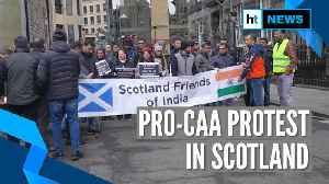 Watch: Pro-CAA protest in Scotland on India's 71st Republic Day [Video]