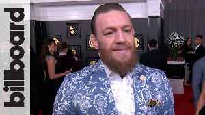 Conor McGregor: 'Kobe Bryant's Power Has Transcended' | Grammys 2020 [Video]