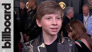 Mason Ramsey Talks Teaming Up With Lil Nas X, Billy Ray Cyrus, BTS and Diplo For 'Old Town Road' Performance   Grammys 2020 [Video]