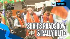 Vote for BJP so current hits Shaheen Bagh: Amit Shah poll pitch in Delhi [Video]