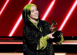 News video: Billie Eilish Wins Record and Album of the Year at 2020 Grammys