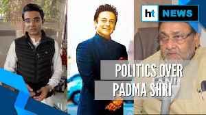 Adnan Sami awarded Padma Shri: Congress & NCP slam Modi govt, singer hits back [Video]