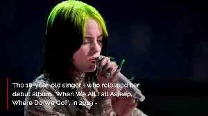 News video: Billie Eilish named Best New Artist at the Grammys