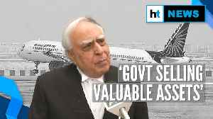 Govt to sell entire stake in Air India; Congress hits out at Modi Govt [Video]