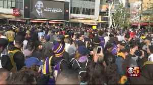 News video: Thousands Pack Staples Center To Honor Legacy Of Kobe Bryant