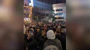 Los Angeles pays tribute to Kobe Bryant