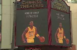 Kobe Bryant remembered on Hollywood Boulevard [Video]