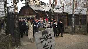 'We forget at our peril: London mayor Sadiq Khan attends Auschwitz memorial [Video]