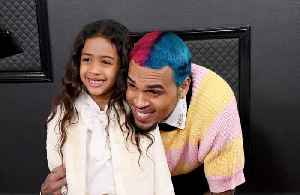 Chris Brown among stars taking kids to Grammys