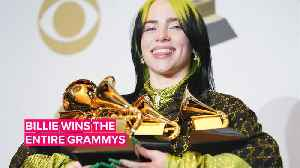 News video: All the ways Billie Eilish made history at the Grammys