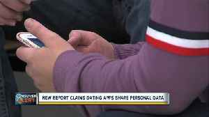 New report claims dating apps share personal data [Video]
