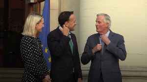 Michel Barnier meets Taoiseach Leo Varadkar ahead of Brexit