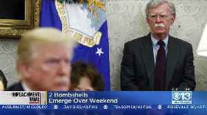 John Bolton Claims He Witnessed Pres. Trump Giving Order To Withhold Aid To Ukraine [Video]