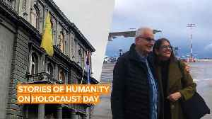 Holocaust Remembrance Day: Uplifting stories of coming together [Video]